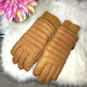 Gordini Genuine Leather Vintage Insulated Gloves